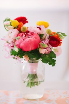 dreamy spring bouquet, photo by Anahi Navarro, flowers by Sweet Sunday Events…