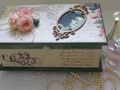 Resultado de imagem para caixas de mdf decoradas com stencil