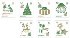 Christmas stamps – Guernsey