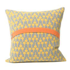 With a bang-on-trend yellow print this Seven Gauge Studios Lolli Pamplemousse/Seal Cushion from Heals will brighten up your home