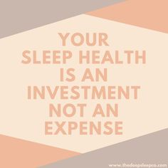 sleep health is an investment not an expense. Make 2018 the year that you invest in your body, your health and your life. Because, you are worth investing in! Sleep Medicine, Sleep Quotes, Natural Sleep Remedies, Wellness Tips, Wellness Products, Trouble Sleeping, Sleep Deprivation, Natural Solutions, Life Advice