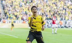 Shinji Kagawa - Borussia Dortmund - MF - #7 Getting ready for UEFA Champions League group stage!