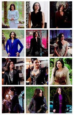 Regina Mills Season 4 outfits