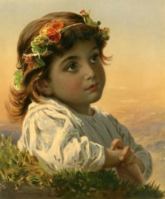 """""""Dreaming Daisy""""  Sophie Gengembre Anderson"""