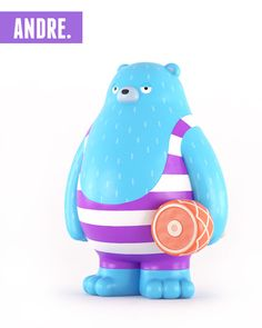 Bear Toy Design by Yum Yum (London, UK) via IdN™ Creators®