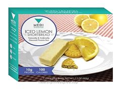 Medi-Weightloss Iced Lemon Shortbread Protein Bars – High Protein (10g) – 100 Calories – For Hunger Control During Diet/Weight Loss – 7 Bars Per Box Check It Out Now     $20.09    Irresistibly tart with a subtle sweetness, Iced Lemon Shortbread is the perfect take and go breakfast, afternoon pick ..  http://www.healthyilifestyles.top/2017/03/29/medi-weightloss-iced-lemon-shortbread-protein-bars-high-protein-10g-100-calories-for-hunger-control-during-dietweight-loss-7-bars-per-box/