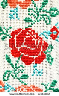 stock photo : Traditional embroidery