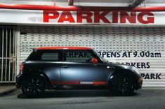 Mini Cooper Matte Black