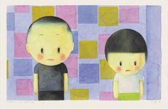 Liu Ye, COMPOSITION WITH GIRL AND BOY on ArtStack #liu-ye-liu-ye #art