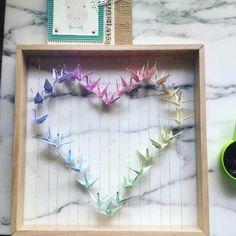 34 New Ideas Origami Bird Drawing Posts Origami Cat, Origami And Quilling, Origami Cranes, Origami Dragon, Paper Quilling, Hanging Origami, Origami Mobile, Origami Flowers Instructions, Simple Bird Tattoo