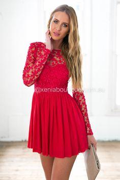 aff733c2f5 Splended Angel 2.0 Dress (Red)