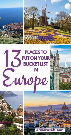13 Hottest Summer Destinations in Europe.