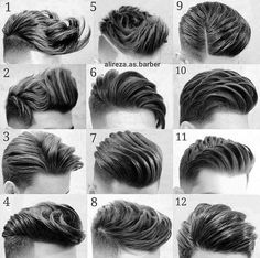 What do you think of this hairstyle? Comment below Best Picture For hair and beard styles over 50 Fo Mens Hairstyles With Beard, Cool Hairstyles For Men, Cool Haircuts, Hair And Beard Styles, Hairstyles Haircuts, Haircuts For Men, Curly Hair Styles, Barber Hairstyles, Trending Hairstyles
