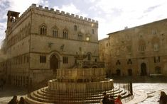 Perugia Umbria Market Square  http://monkeysandmountains.com/perugia-umbria#