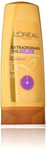 L'Oreal Paris Hair Care Advanced Extraordinary Oil Curls Conditioner, 12.6 Fluid Ounce L'Oreal Paris http://www.amazon.com/dp/B0194HSJYI/ref=cm_sw_r_pi_dp_lZu2wb1D807G1