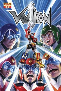 Dynamite Entertainment's Voltron #3 Alex Ross cover issue 3