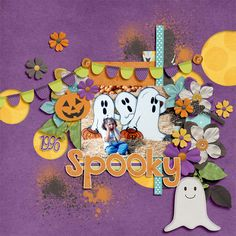 Spooky   Memory Clips: All Hallows Eve; Cluster Queen Creations: Gimme Layers Vol. 18; Wendy Tunison Designs: Me and My Shadow