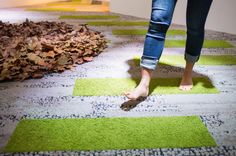 Nature would #design with diversity in mind. #IFinhumannature. #carpet tile