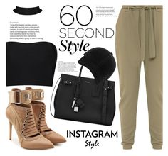 """""""60-Second Style: Insta-Ready"""" by fattie-zara ❤ liked on Polyvore featuring Puma, Yves Saint Laurent, rag & bone, 60secondstyle and PVShareYourStyle"""