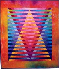 Illusion Baby Quilts #1 & #2 by Caryl Bryer Fallert