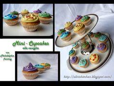 cupcakes alla vaniglia con frosting al philadelphia