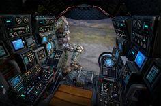 ArtStation - Titanfall - Atlas, chang-gon shin