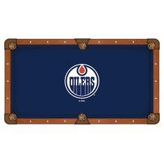 Edmonton Oilers Pool Table Cloth