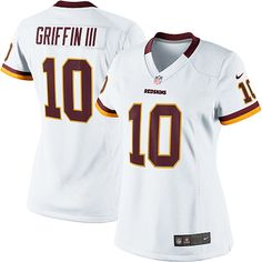 save off 00eb6 c6e8d ... Nike Redskins 10 Robert Griffin III Gold With 80TH Patch Womens  Embroidered NFL Limited Jersey Women NFL Womens Elite Nike ...
