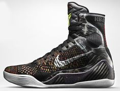 Authentic Nike Kobe 9 High KRM EXT Black Black 717593 001