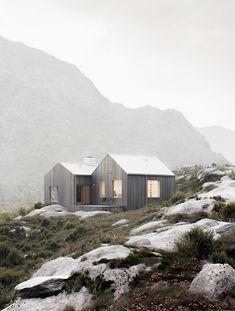 Lovely wooden house//