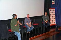 "Co-writer Deon C. van Rooyen and Director Jeff Sable representing ""Life at the Resort"" at the San Antonio Film Festival 2012"