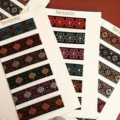 Yeni desenler yakında raflarda📣📣📣📣🎀#fantastickurdele #kurdele #kurdela #ribbon #bordür #border #borten #tuhafiye #online #dokumaetiket #desen #tasarım #etiket #etsy #etsysellersofinstagram #etsyshop #hobby #hobi #craft #tuchexpo2016