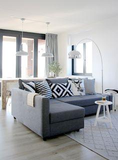 Salón en grises. Facilisimo.com
