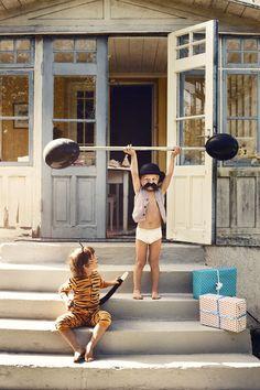 de sterkste man van de wereld - alla balla kids - fotograaf Eric Josjö