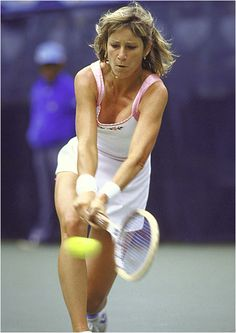 Chris Evert-famous 2 hand backhand