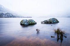 Dove Lake in Cradle Mountain, TAS