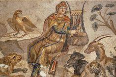 """Foto da encantadora Beasts  Mosaico """"Orfeu - Encanto das Bestas"""" Antióquia, Turquia"""