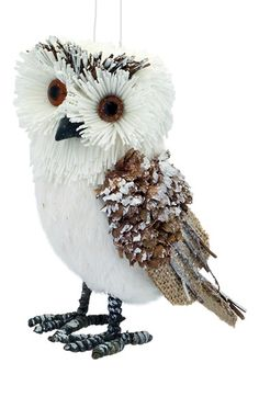 Melrose Gifts 'Woodland Friends' Owl Ornament