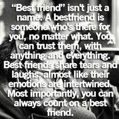 To true friends