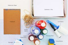 Easy Art Projects for Kids: Rubber Band Art Materials