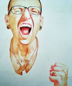 chester bennington drawing - Pesquisa Google