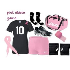 pink ribbon volleyball game! - Polyvore