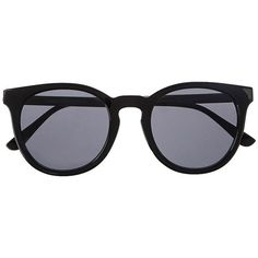 Witchery Abigayle Sunnies (835 MXN) ❤ liked on Polyvore featuring accessories, eyewear, sunglasses, glasses, fillers, extra, black, star eyewear, star sunglasses and star glasses
