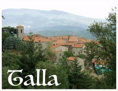 Talla, in Casentino, provincia di Arezzo, i nostri prodotti freschi sono in vendita presso: - Alimentari Farsetti Santi - Alimentari Fontani Dino, Via C. Battisti, 18