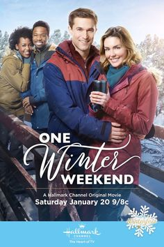One Winter Weekend - Taylor Cole and Jack Turner find inspiration in an unlikely snowed-in winter getaway.   #Winterfest #HallmarkChannel #OneWinterWeekend
