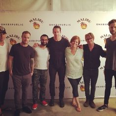 "Via Instagram user - @ijam1's photo: ""One Republic got to meet us.  One Republic got to meet us.  #onerepublic #funtimes #summer #music #shoesforcrews @shoesforcrews @sfc #sfc #cruzanamphitheatre #ilovewpb #nativesummertour #thescript #life #concert #ollies #pantone186shoes"""