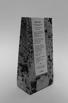 Simple Soap by Mariann Veress, via Behance