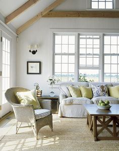 Shades of White~ Inspirations -  I love white on white in decorating.   Creamy pale hues mixed together create interest