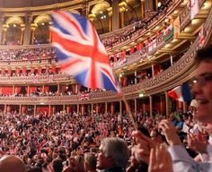 Last night of the Proms at the Royal Albert Hall. I'd love to be there amongst all the pomp and ceremony.