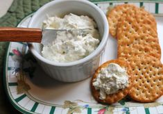This cheddar ranch dip is easy to make, packs a lot of flavor and keeps well in the fridge.